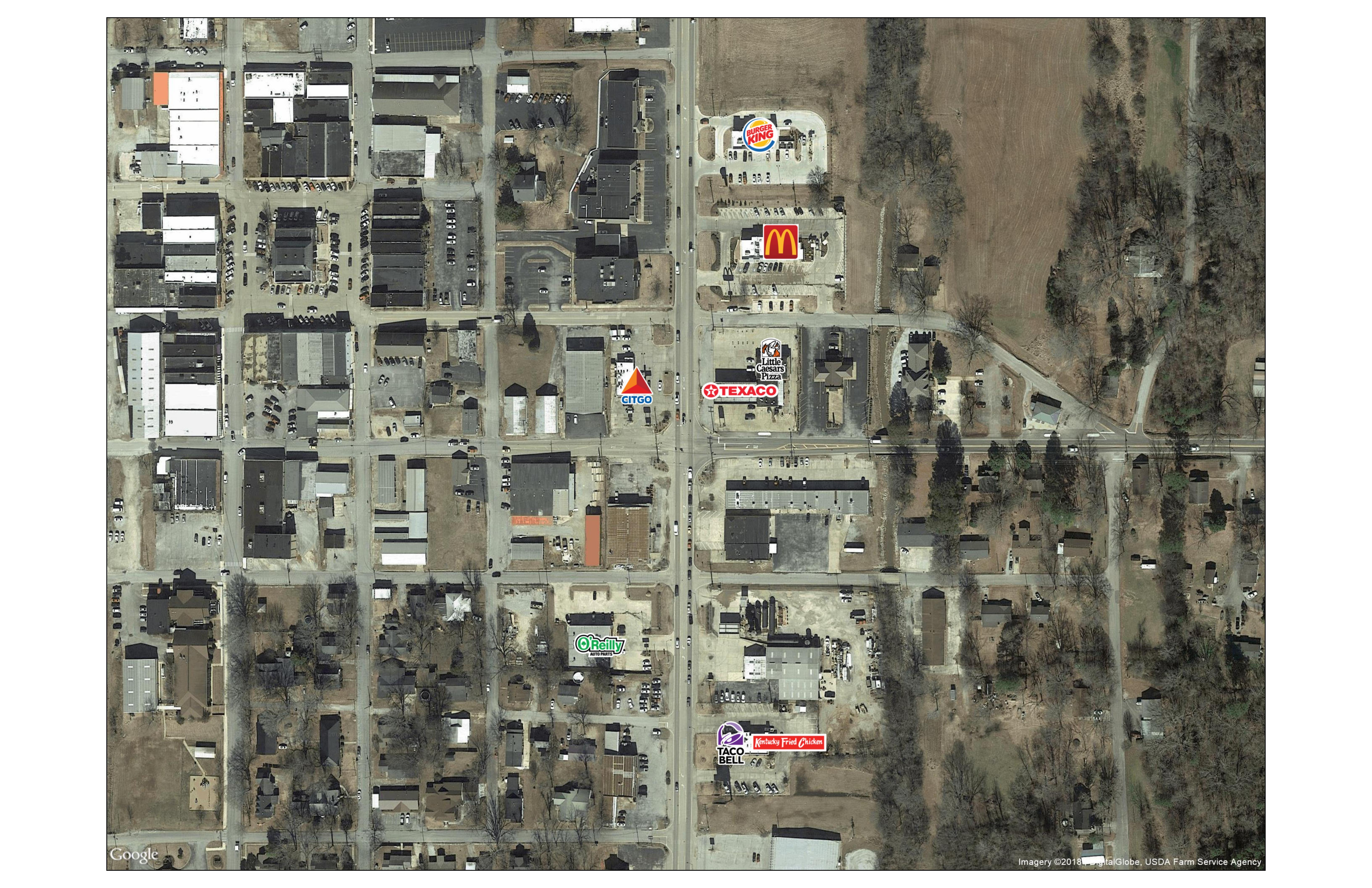 SWQ of Mississippi Highway 15 and Walnut Street | Ripley, Mississippi 38663